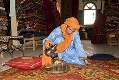 Thé au Maroc Photo stock