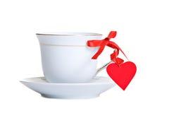 Thé avec amour Photos stock