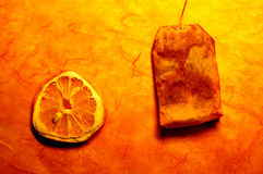 Thé avec le citron photos libres de droits