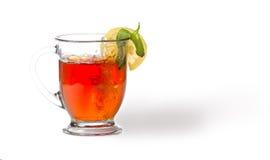 Thé avec le citron et la menthe Image libre de droits