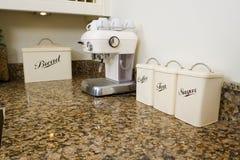Thé, café et sucre Photo libre de droits