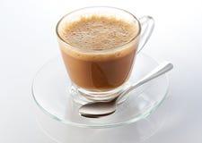 Thé chaud de lait Photo libre de droits