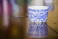 thé chinois de cuvette Photographie stock libre de droits