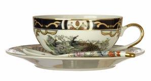 thé chinois de cuvette images stock