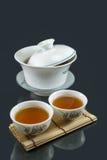 Thé chinois de Kungfu Image stock