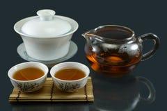 Thé chinois de Kungfu Images libres de droits
