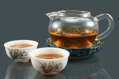Thé chinois de Kungfu Photographie stock libre de droits