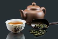 Thé chinois de Kungfu Image libre de droits