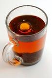 thé d'éclaboussure Photo stock