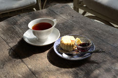 Thé d'après-midi Photo libre de droits