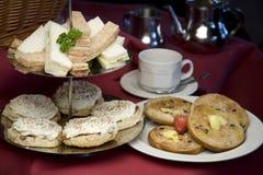 Thé d'après-midi. Image stock