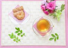 Thé d'après-midi merveilleux Photos stock