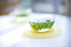 thé d'herbe Photographie stock libre de droits