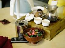 Thé d'herbe asiatique Image libre de droits