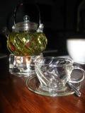 Thé dans la glace photo stock