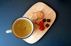Thé dans la maison Photo stock