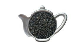 Thé dans le tamis. images libres de droits