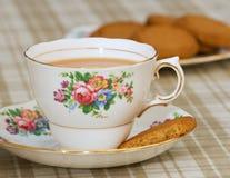 thé de biscuits photo libre de droits