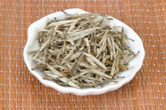 Thé de blanc chinois Images stock