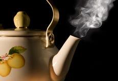 thé de bouilloire Photographie stock