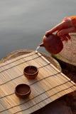 thé de cérémonie Images libres de droits