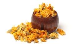 Thé de chrysanthème Photographie stock
