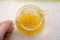 Thé de chrysanthème Image stock