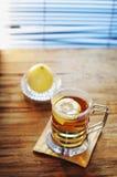 Thé de citron Photo libre de droits