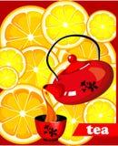 Thé de citron Photos libres de droits