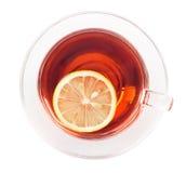 Thé de citron photo stock