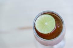Thé de citron Images stock