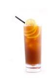 Thé de citron de glace image libre de droits