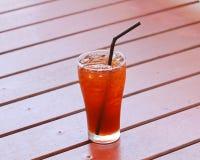 Thé de citron de glace Photo stock