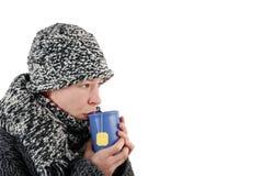 thé de cuvette Images libres de droits