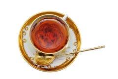 thé de cuvette Images stock