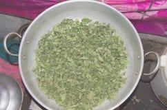 Thé de feuille de figue Photos stock