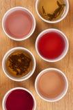 Thé de fines herbes et de fruit Photos stock