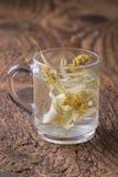 Thé de fleur de tilleul photo stock
