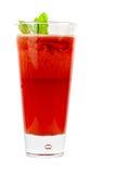 Thé de froid de fraise Image libre de droits