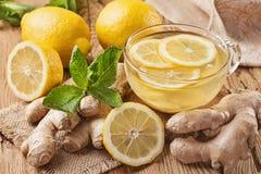 Thé de gingembre Images stock
