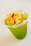 Thé de glace d'Apple Image stock