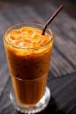 Thé de glace thaï Image stock