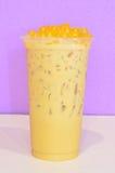 Thé de lait de banane Photo stock