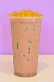 Thé de lait de café Image stock