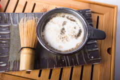 Thé de Matcha de Japonais image stock