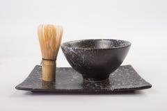 Thé de Matcha de Japonais photo libre de droits