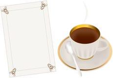 Thé de matin Photographie stock libre de droits