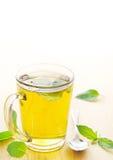 Thé de menthe poivrée Photo stock