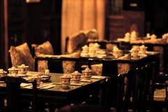 thé de porcelaine Image libre de droits