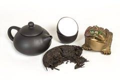 Thé de Puer image stock